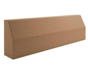 бордюр дорожный коричневый