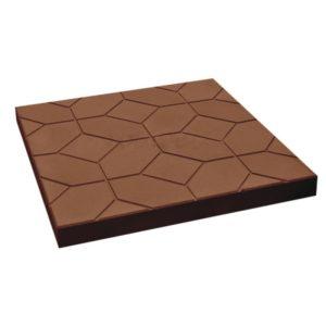плитка ковер коричневая