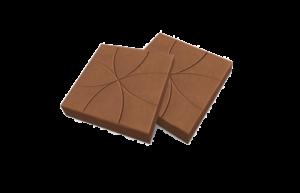 плитка цветок коричневая
